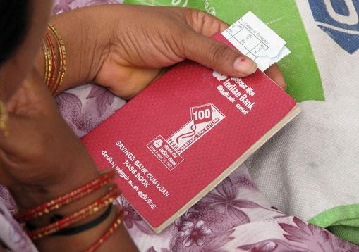 Photo of Indian bank passbook