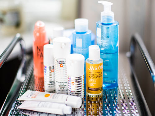 Various Shampoos